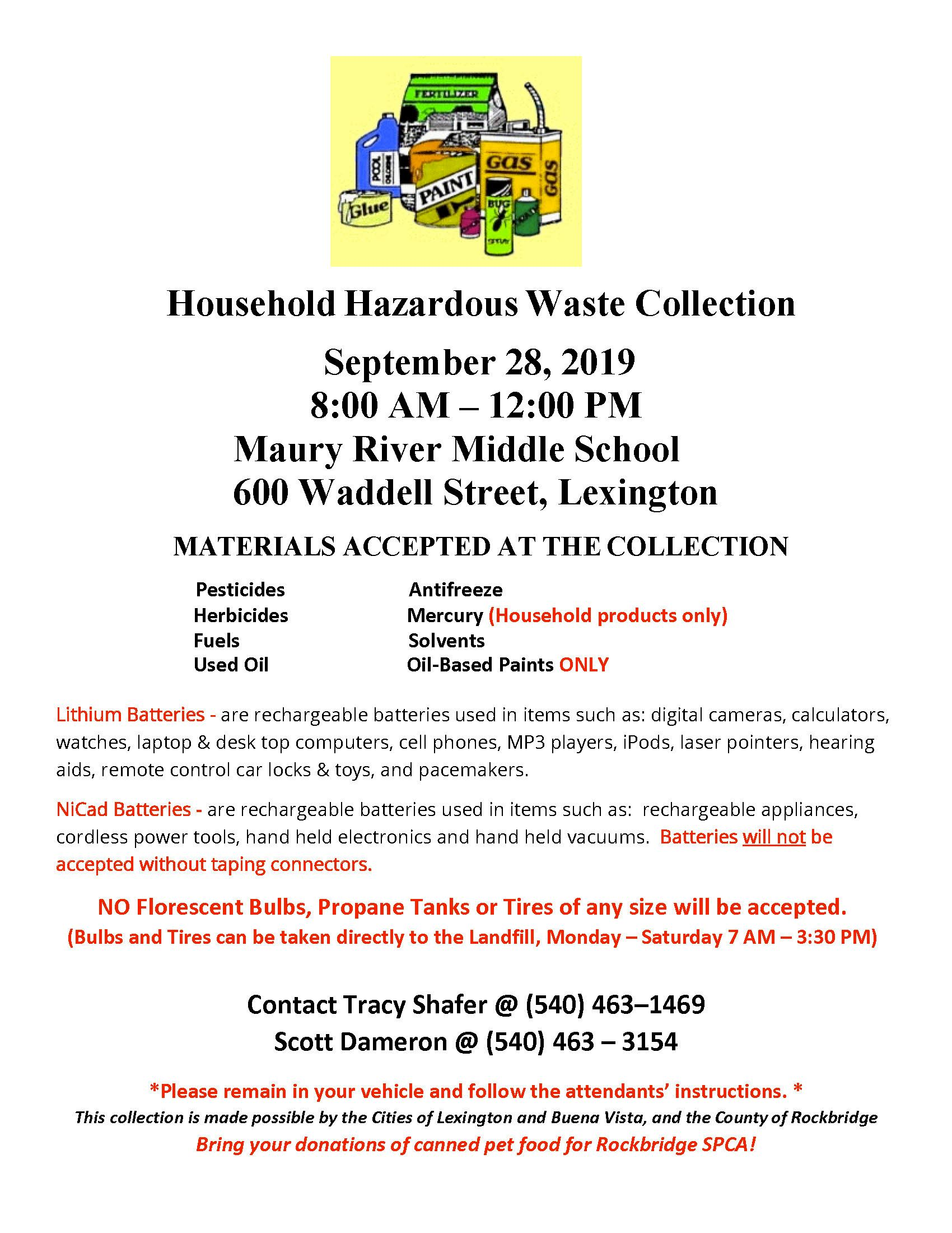 Household Hazardous Waste Collection 2019